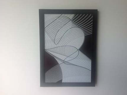 Recent Modern Abstract Wall Art With Glass Frame (View 10 of 15)