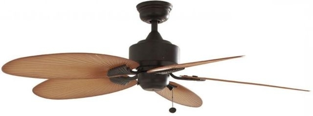 Recent Outdoor Electric Ceiling Fans Regarding Ceiling Fan Lillycrest 52 In (View 12 of 15)