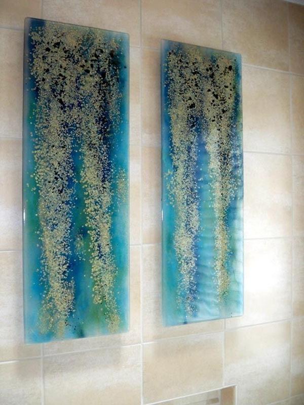Recent Pretty Design Glass Wall Art Modern Decoration Wond Vintage And Regarding Glass Wall Art Panels (View 13 of 15)