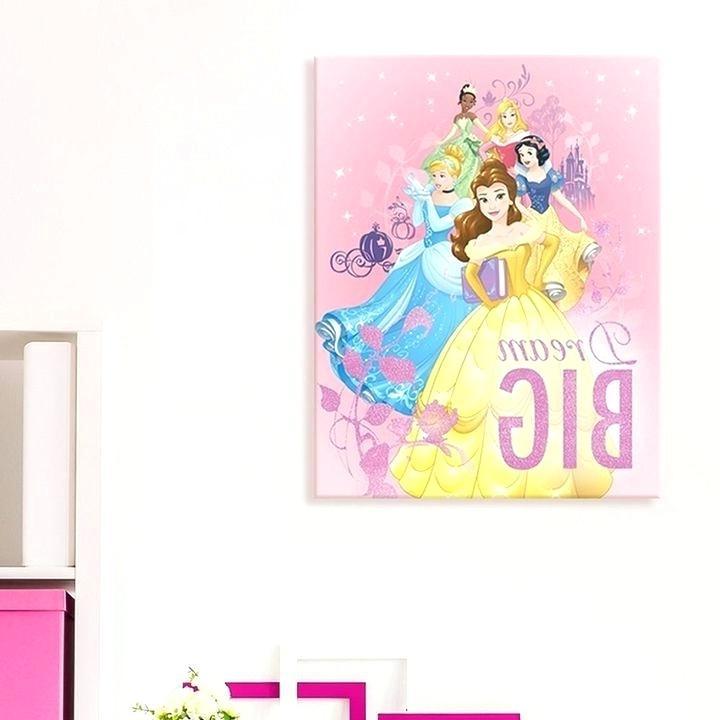Recent Princess Canvas Wall Art Regarding Disney Princess Canvas Wall Art Wonderful Inspiration Princess (View 12 of 15)