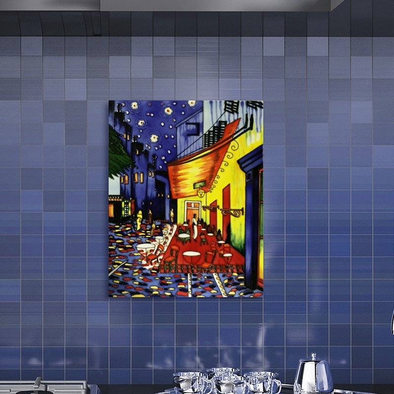 Recent Tori Home 'cafe Terrace At Night'vincent Van Gogh Wall Art (View 9 of 15)