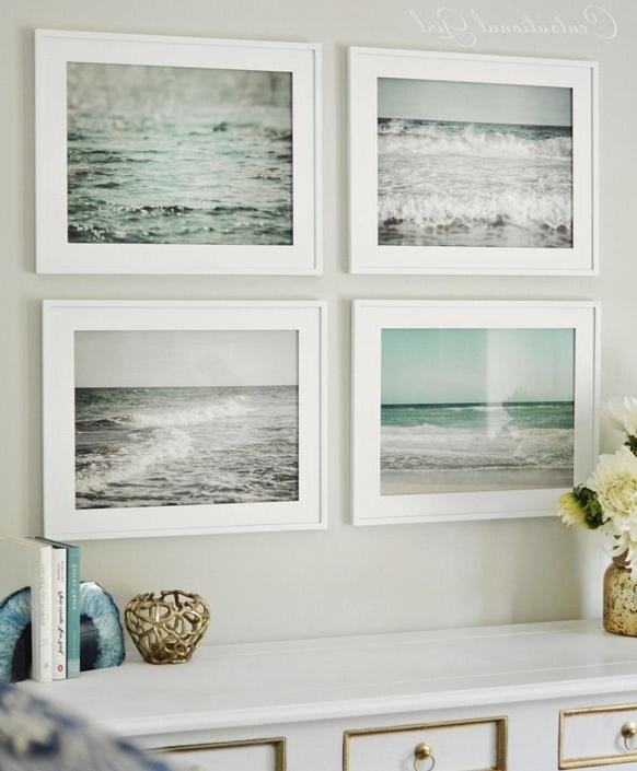 Recent Wall Art: Marvellous Beach Framed Art Beach Wall Art For Bathroom With Regard To Beach Wall Art For Bedroom (View 12 of 15)