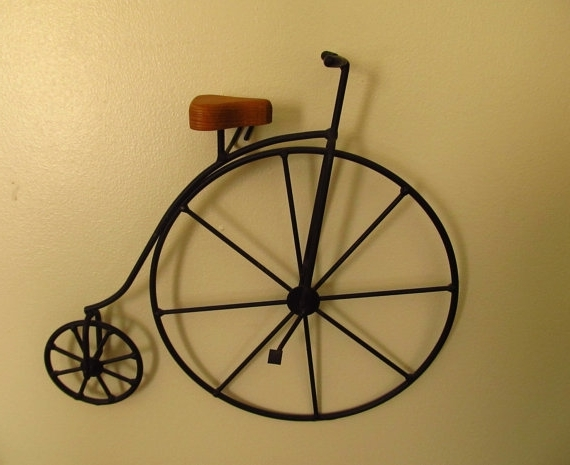 Recent Wheel Metal Bicycle Wall Art : Andrews Living Arts – Homemade Metal With Regard To Metal Bicycle Wall Art (View 14 of 15)