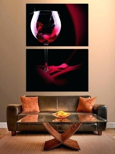 Recent Wine Theme Wall Art Intended For Wine Canvas Art Wine And Dine Canvas Wall Art – Sonimextreme (View 15 of 15)