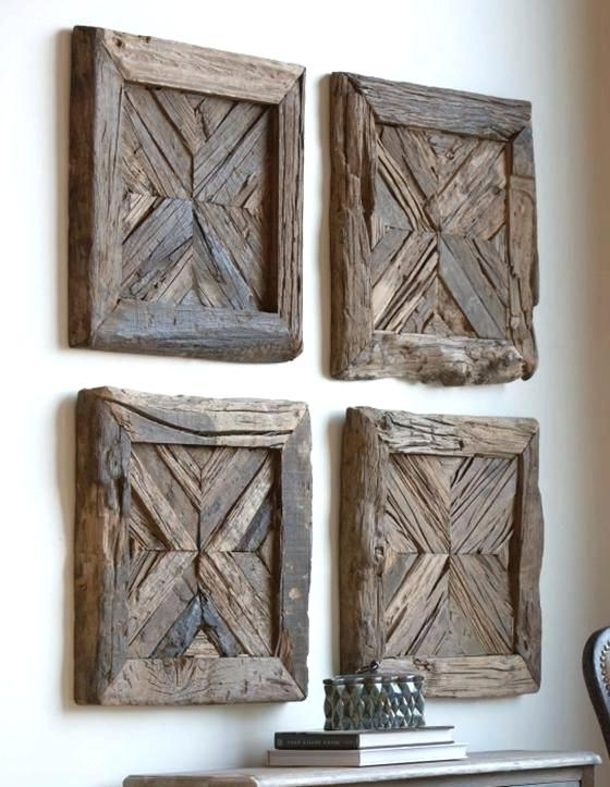 Recent Wooden Wall Art Panels Within Wood Wall Art Decor Equalvoteco Wood Wall Art Decor Large Wood Wall (View 10 of 15)