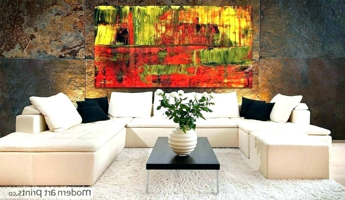 Red Abstract Wall Art Red Wall Art Canvas Wall Art Best Ideas Red Pertaining To Preferred Abstract Wall Art Living Room (View 15 of 15)