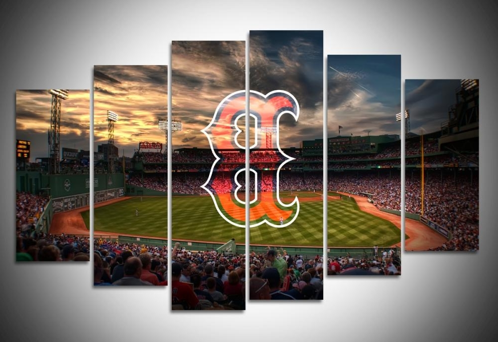Red Sox Wall Art Inside Most Popular Boston Red Sox Wall Art Canvas Prints Geek Paintings In Remodel (View 4 of 15)