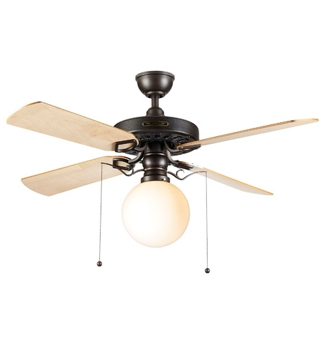 Rejuvenation With 2017 Outdoor Ceiling Fans With Schoolhouse Light (View 9 of 15)