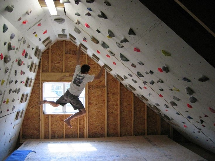 Rock In Home Bouldering Wall Design (View 3 of 15)