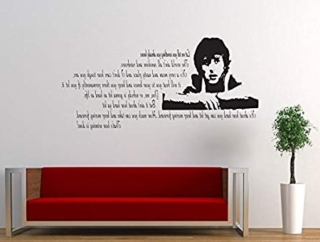 Rocky Balboa Wall Art Inside Widely Used Rocky Balboa Film Quote Decal Sticker Living Room Bedroom Wall Art (View 9 of 15)
