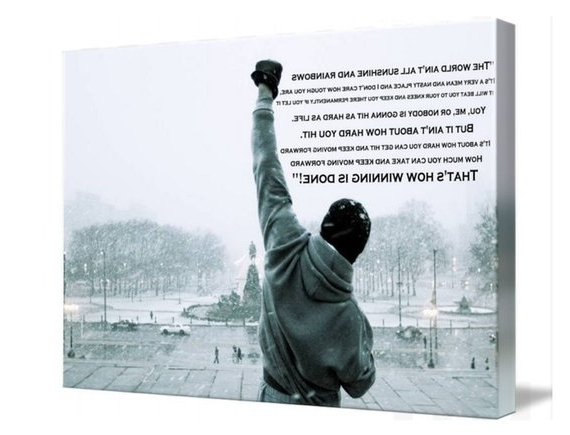 Featured Photo of Rocky Balboa Wall Art