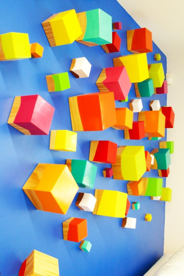 Rosemary Pierce Modern Art Throughout Cubes 3D Wall Art (View 13 of 15)