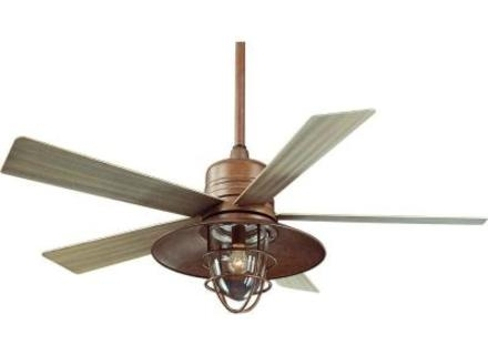 Rustic Outdoor Ceiling Fans With Lights For Latest Ceiling Fans With Lights : Rustic Outdoor Cabin Modernfanoutlet (View 14 of 15)