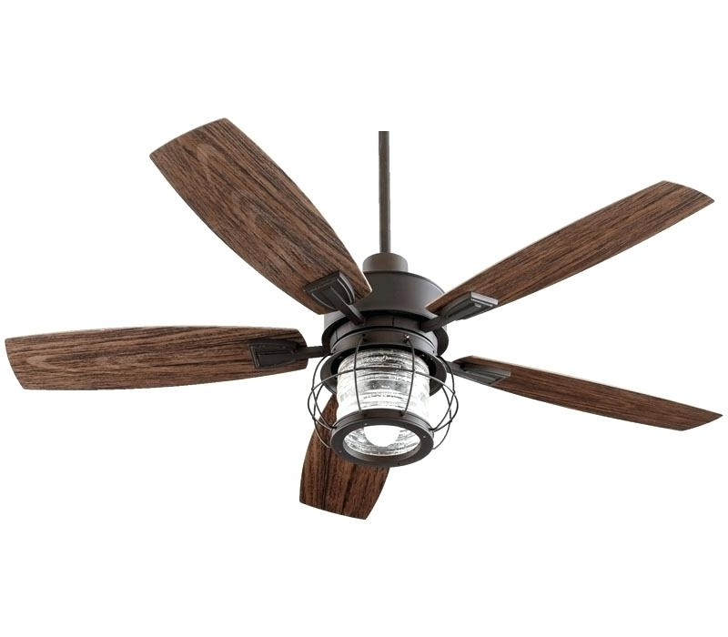 Rustic Outdoor Ceiling Fans With Lights Regarding Current Rustic Fan Light Mission Style Ceiling Fan Light Oil Rubbed Bronze (View 12 of 15)