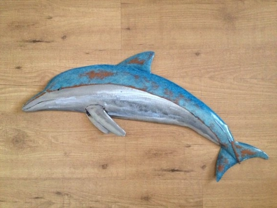 Sallenbachfishart Within 2018 Dolphin Metal Wall Art (View 11 of 15)