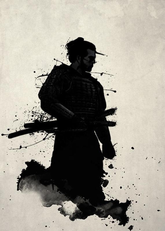Samurai Wall Art Regarding Well Known Samurai Art Printnicklas Gustafsson (View 13 of 15)