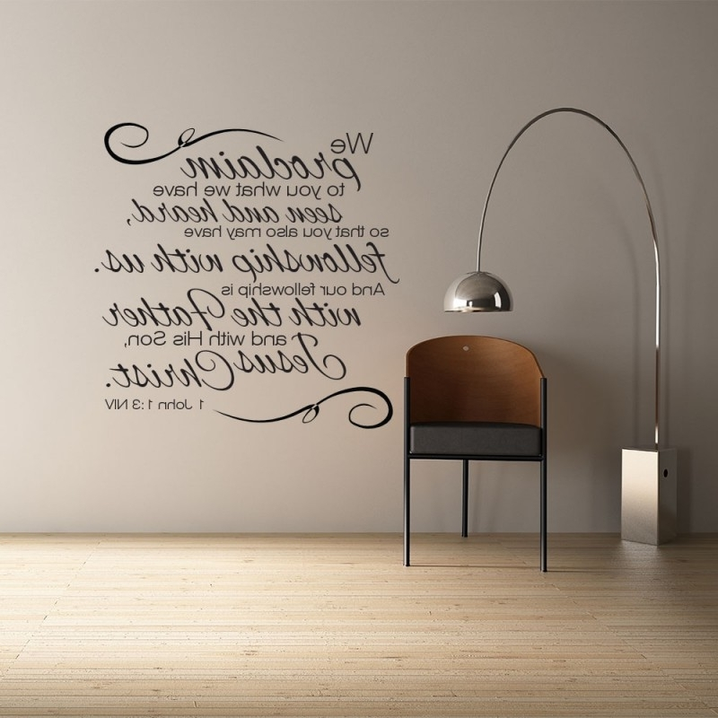 Scripture Bible Verse Wall Art Perfect Scripture Wall Art – Home Inside Most Up To Date Bible Verses Wall Art (View 6 of 15)