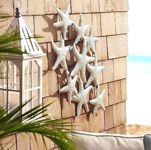 Seaside Metal Wall Art With Most Recent Seaside Metal Wall Art Best Outdoor Wall Decorations Ideas On (View 2 of 15)