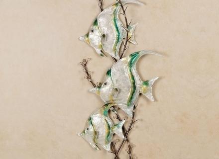 Seaside Metal Wall Art Within Favorite 7 Seaside Wall Art, Collection Of Seaside Wall Art : Ebth (View 13 of 15)