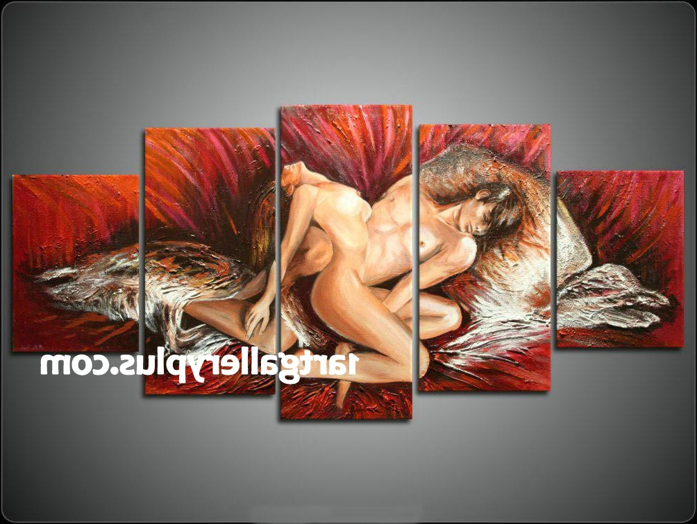 Sensual Canvas Art,sensual Canvas Paintings,sensual Art Inside Best And Newest Sensual Wall Art (View 2 of 15)