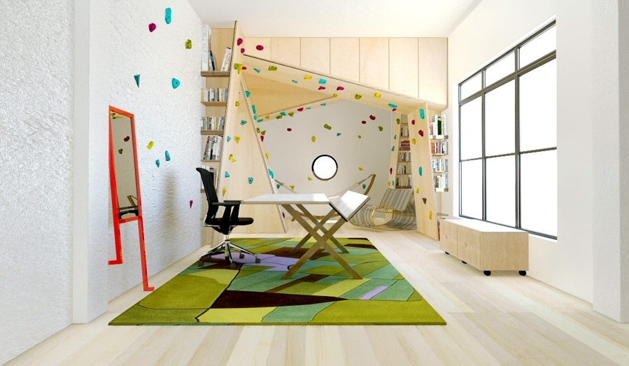 Seven Home Design With Regard To Well Known Home Bouldering Wall Design (View 15 of 15)