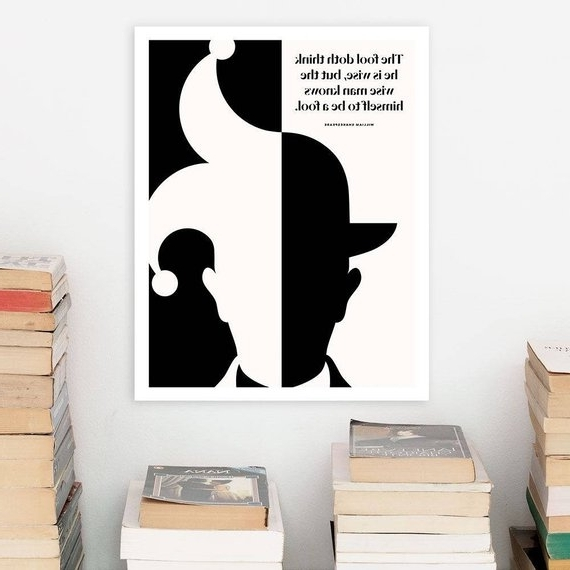 Shakespeare Literary Art Print Large Wall Art Posters (View 10 of 15)