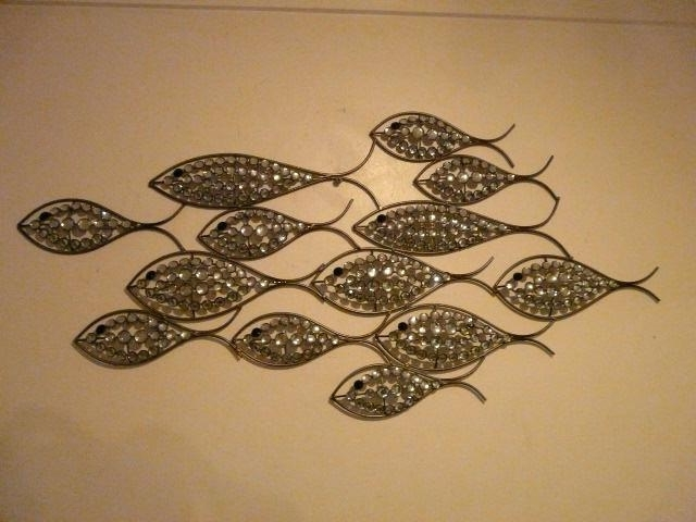 Shoal Of Fish Metal Wall Art With Famous Fish Shoal Metal Wall Art Wonderful Home Interior Design For Fish (View 10 of 15)