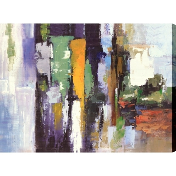 Shop Artmaison Canada 'abstract Colors I' Abstract Canvas Print Wall Intended For Favorite Abstract Wall Art Canada (View 13 of 15)