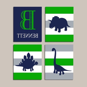 Shop Dinosaur Canvas Art On Wanelo Pertaining To Most Popular Dinosaur Canvas Wall Art (View 6 of 15)