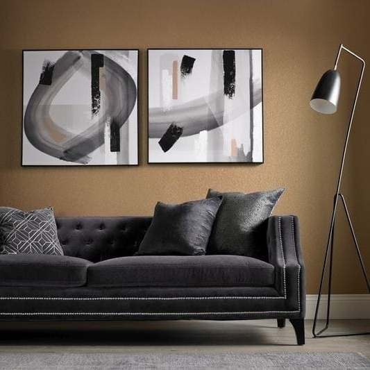 Shop Graham & Brown Monochrome Radiance Canvas Wall Art – Free Intended For Widely Used Graham & Brown Wall Art (View 13 of 15)