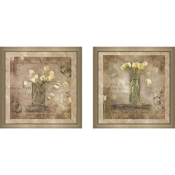 "Shop ""nothing Love Cannot Face"" Wall Art Set Of 2, Matching Set With Regard To Popular Matching Wall Art Set (View 14 of 15)"