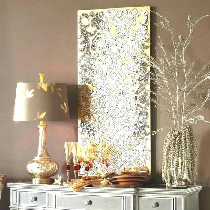 Silver And Gold Wall Art For Current  (View 8 of 15)