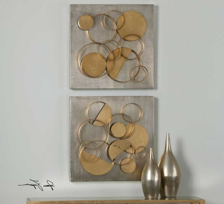 Silver And Gold Wall Art With Regard To 2018 Silver And Gold Wall Art – Www (View 11 of 15)