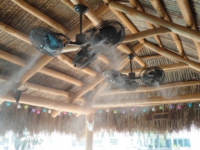 Small Outdoor Ceiling Fans → Community For Trendy Outdoor Ceiling Fans With Misters (View 2 of 15)