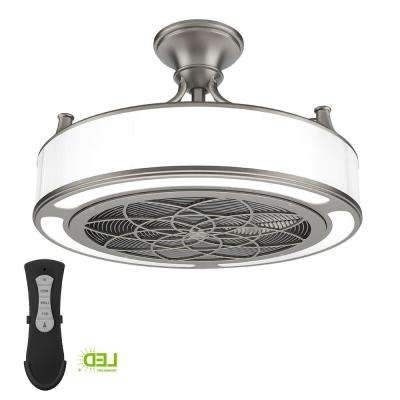 Small Room – Ceiling Fans – Lighting – The Home Depot Regarding Most Current Mini Outdoor Ceiling Fans With Lights (View 13 of 15)