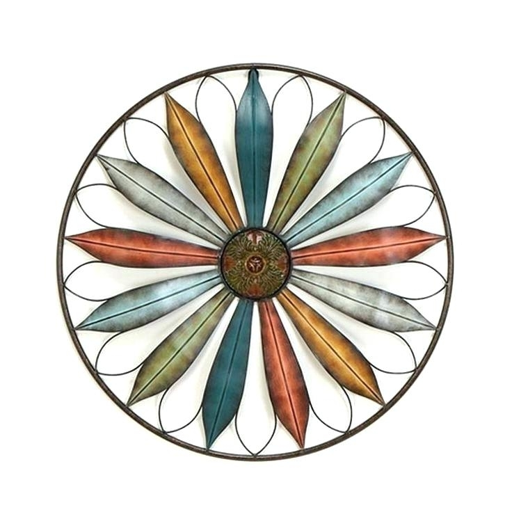 Southwest Wall Art Wall Decor Home Accents Southwestern Pinwheel Inside Most Recent Southwest Metal Wall Art (View 13 of 15)