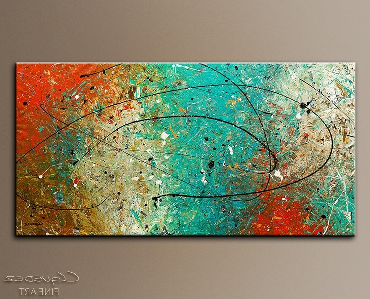 Spectrum Abstract Art Wall Paintings For Sale Modern Within Designs Intended For 2018 Abstract Wall Art For Bathroom (View 12 of 15)