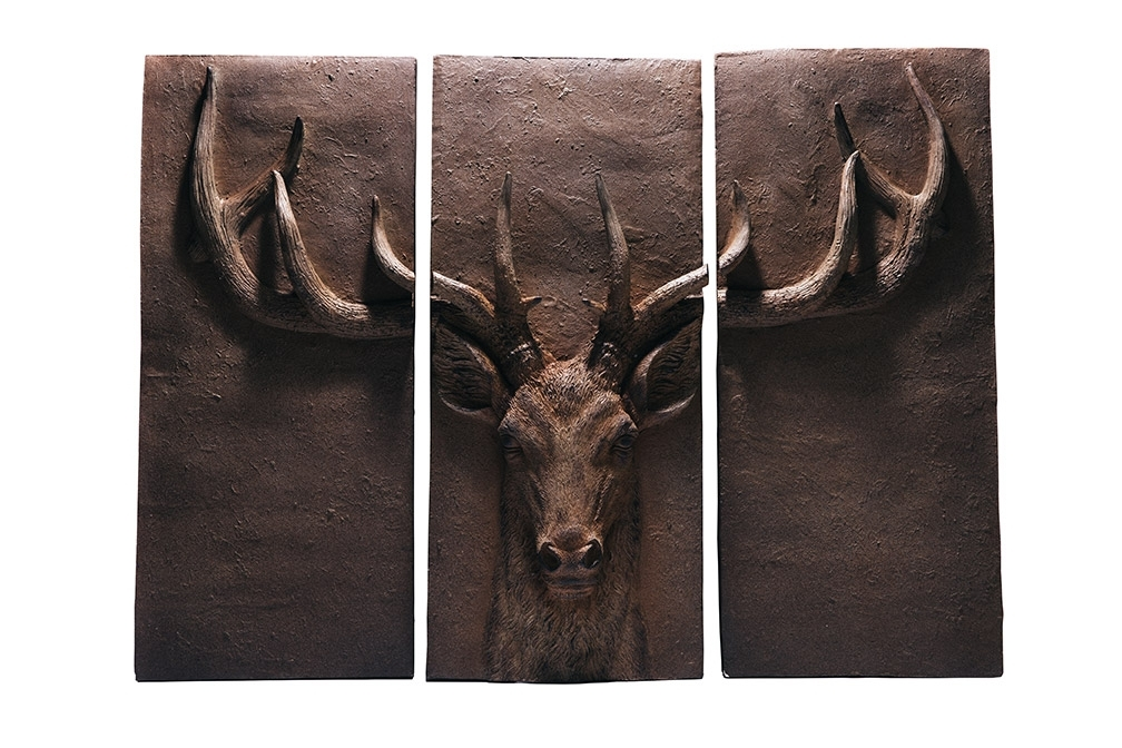 Stag Wall Art Regarding Recent Bentley & Bo » 3 Part Stag Wall Art (View 11 of 15)