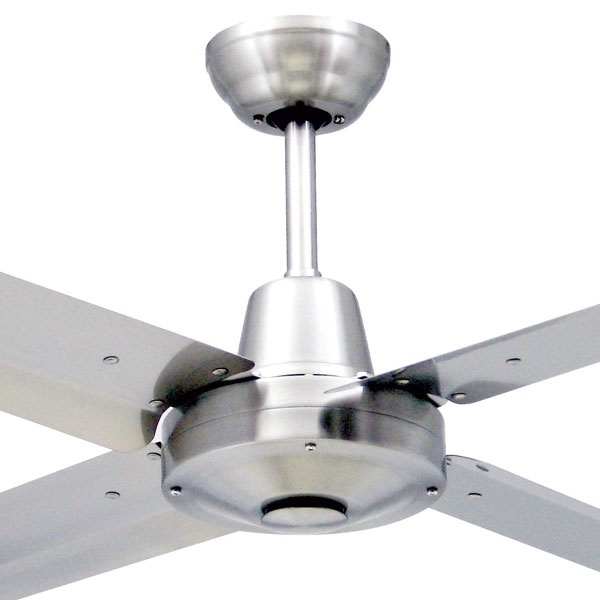 Stainless Steel Outdoor Ceiling Fans Inside Preferred Stainless Steel Outdoor Ceiling Fans – Photos House Interior And Fan (View 12 of 15)