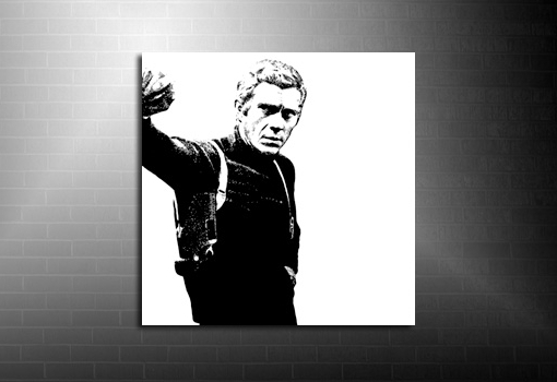 Steve Mcqueen Wall Art In Widely Used Steve Mcqueen Canvas Art (View 12 of 15)