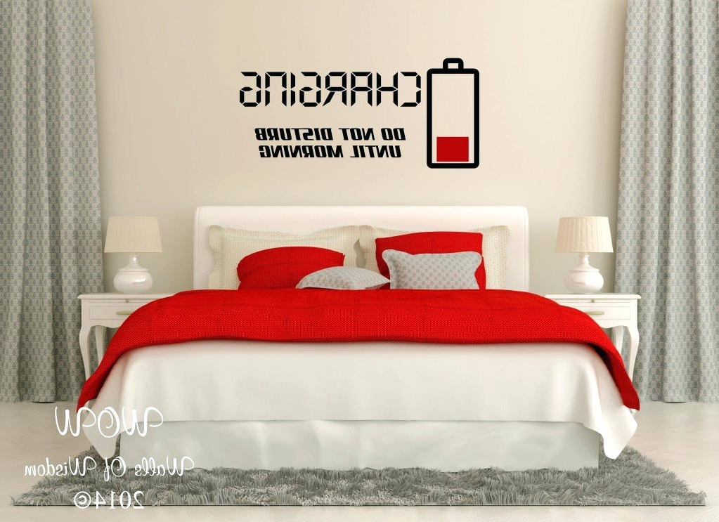 Stunning Romantic Bedroom Wall Decor Ideas With Art For Bedrooms Inside Popular Wall Art For Bedrooms (View 11 of 15)
