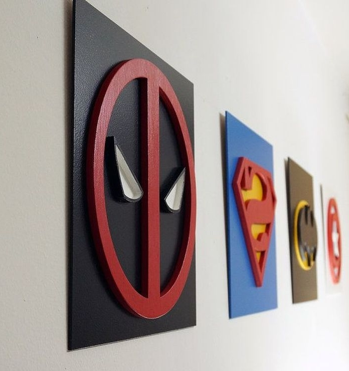 Superhero Wall Art For Kids Pertaining To Well Liked  (View 5 of 15)