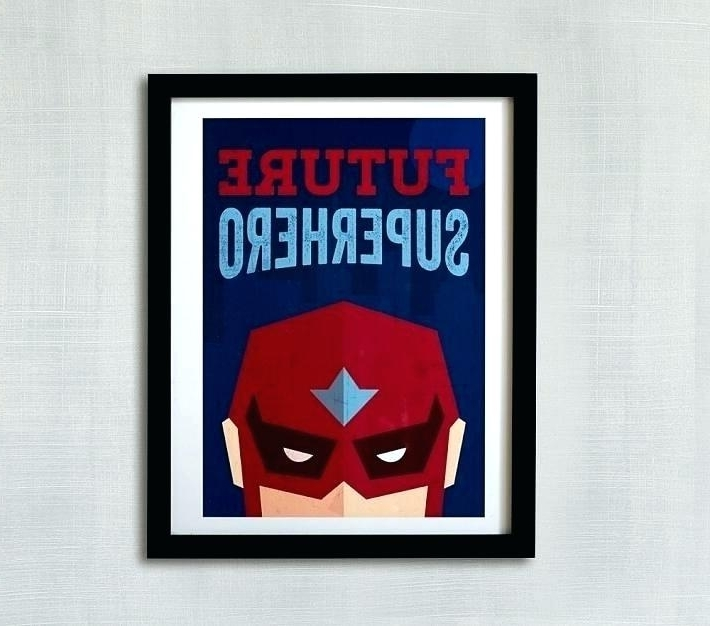 Superhero Wall Art Superhero Canvas Wall Art Uk Superhero Wall Art Pertaining To Trendy Superhero Wall Art For Kids (View 14 of 15)