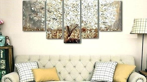 Swingeing Gold And Silver Painting Gold And Silver Wall Art Regarding Best And Newest Silver And Gold Wall Art (View 14 of 15)