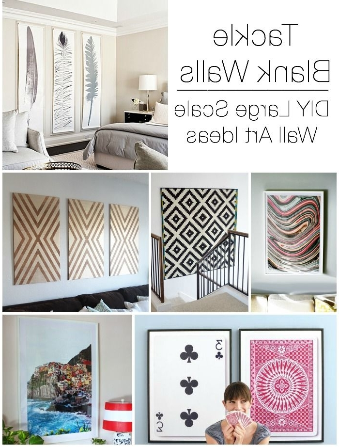 Tall Wall Art Decor Throughout Most Current Decorating Large Walls – Large Scale Wall Art Ideas (View 8 of 15)