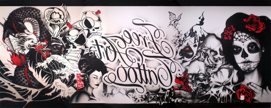 Tattoo Wall Art with Most Recently Released Free Art Tattoo Wallewil33, Tattoo Wall Art - The Beyer Foundation