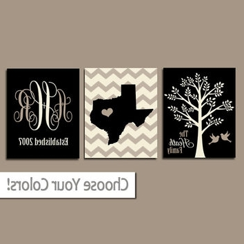 Ten Metal Last N Amazing Name Wall Art Decoration And Amazing Last With Fashionable Last Name Wall Art (View 2 of 15)