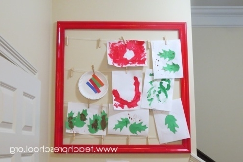 The Art Wall – Teach Preschool Inside Famous Preschool Wall Art (View 13 of 15)