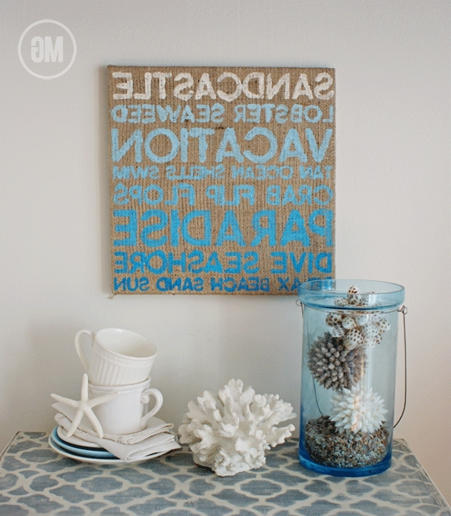 The Best Of Beach Themed Wall Decor At Art Simple Gallery About With Latest Beach Theme Wall Art (View 4 of 15)