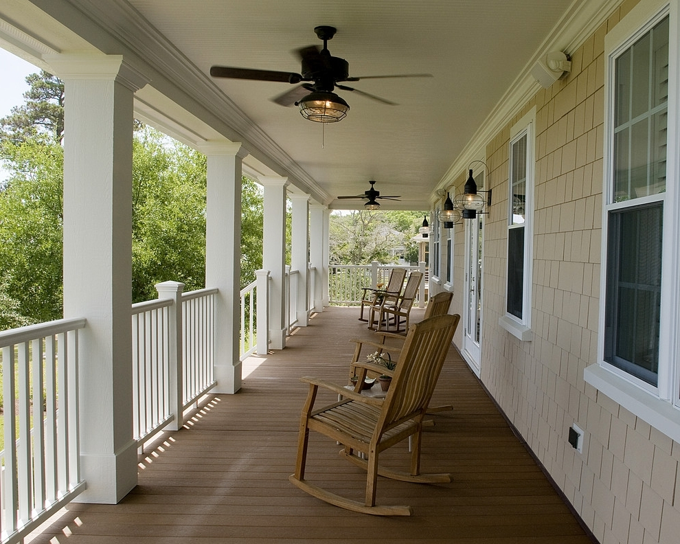 The Difference Between Indoor Outdoor Ceiling Fans Del Mar Religions Intended For Most Recent Outdoor Ceiling Fans For Decks (View 15 of 15)